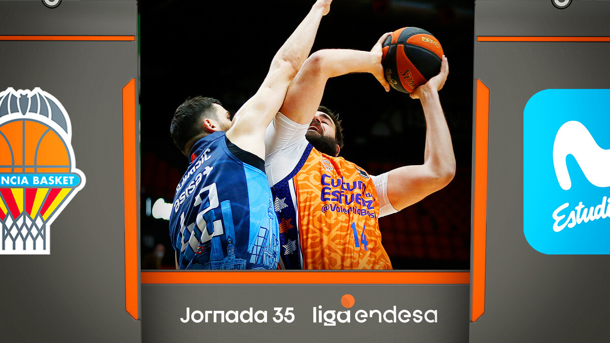 Resumen Valencia Basket 100 - Movistar Estudiantes 89 (J35)